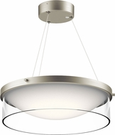 Kichler 42491NILED Tarla Modern Brushed Nickel LED Pendant Lighting