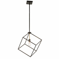 Kichler 42525OZ Cartone Retro Olde Bronze Finish 20.75  Tall Pendant Lighting