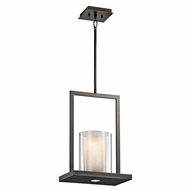 Kichler 42549OZ Triad Olde Bronze Finish 18  Tall Pendant Lamp