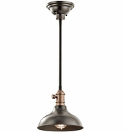 Kichler 42579OZ Cobson Vintage Olde Bronze Mini Lighting Pendant