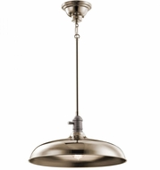 Kichler 42585PN Cobson Retro Polished Nickel Hanging Pendant Light