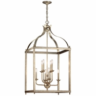 Kichler 42591SGD Larkin Sterling Gold 24  Entryway Light Fixture