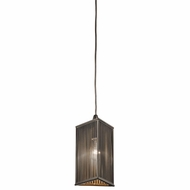 Kichler 42738OZ Contemporary Olde Bronze Finish 5.5  Wide Mini Hanging Light