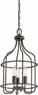 Kichler 42854OZ Tinley Contemporary Olde Bronze Foyer Lighting