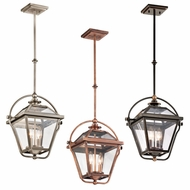 Kichler 42908 Ryegate Vintage 23.75  Tall Foyer Pendant Hanging Light