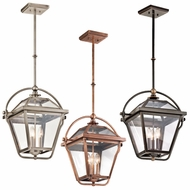 Kichler 42909 Ryegate Retro 12.75  Wide Foyer Hanging Light Fixture