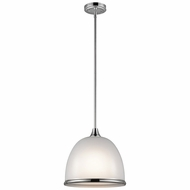 Kichler 42951CH Rory Modern Chrome 12  Drop Lighting