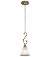 Kichler 43162SGD Monroe Sterling Gold Mini Drop Ceiling Light Fixture