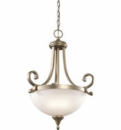 Kichler 43163SGD Monroe Sterling Gold Drop Lighting Fixture