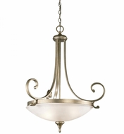 Kichler 43164SGD Monroe Sterling Gold Pendant Lighting