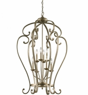 Kichler 43167SGD Monroe Sterling Gold Foyer Lighting