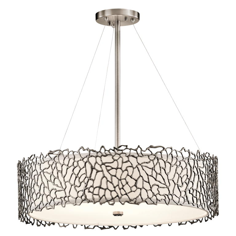kichler clp silver coral modern classic pewter finish, Lighting ideas