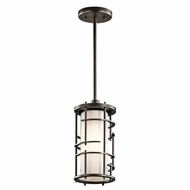 Kichler 43371OZ Tremba Olde Bronze Finish 6.25  Wide Hanging Lamp