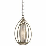 Kichler 43452SGD Savanna Contemporary Sterling Gold Foyer Lighting Fixture