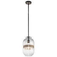 Kichler 43488OZ Kinny Vintage Olde Bronze Finish 8.25  Wide Mini Lighting Pendant