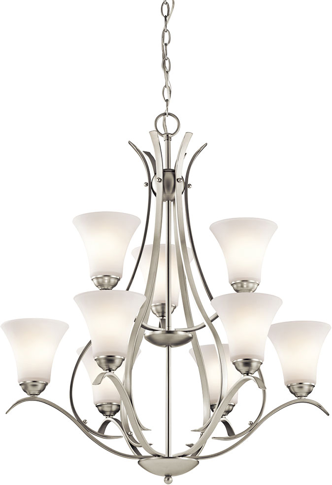 Kichler 43506nil16 Keiran Contemporary Brushed Nickel Led