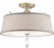 Kichler 43567SGD Casilda Sterling Gold Ceiling Lighting Fixture