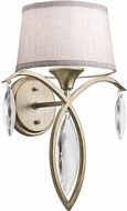 Kichler 43570SGD Casilda Sterling Gold Wall Lamp