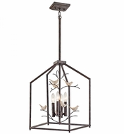 Kichler 43588RT Tippi Rust Foyer Light Fixture
