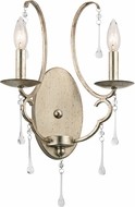 Kichler 43623SGD Shelsley Sterling Gold Wall Lighting