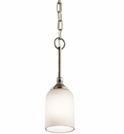 Kichler 43654AP Lilah Antique Pewter Mini Hanging Lamp