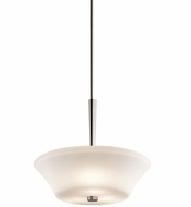 Kichler 43667NI Aubrey Brushed Nickel Pendant Light Fixture