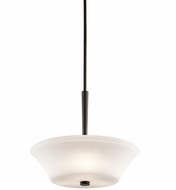 Kichler 43667OZ Aubrey Olde Bronze Pendant Lighting Fixture