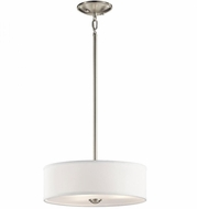 Kichler 43675NI Shailene Brushed Nickel Drop Lighting