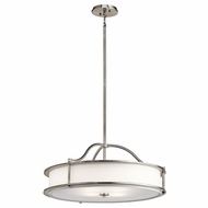 Kichler 43706CLP Emory Classic Pewter Ceiling Pendant Light