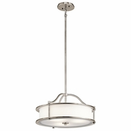 Kichler 43707CLP Emory Classic Pewter Drop Lighting Fixture