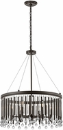 Kichler 43723ESP Piper Contemporary Espresso Drop Ceiling Lighting
