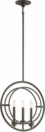 Kichler 43734OZ Imogen Contemporary Olde Bronze Mini Drop Lighting Fixture