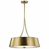 Kichler 43742NBR Maclain Natural Brass Hanging Lamp
