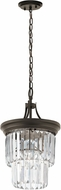 Kichler 43748OZ Emile Modern Olde Bronze Entryway Light Fixture