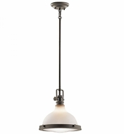Kichler 43765OZ Hatteras Bay Nautical Olde Bronze Mini Pendant Lighting