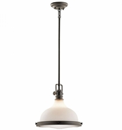 Kichler 43766OZ Hatteras Bay Nautical Olde Bronze Lighting Pendant