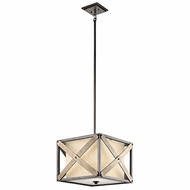 Kichler 43775AVI Cahoon Anvil Iron Hanging Light Fixture