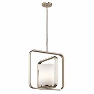 Kichler 43784PN City Loft Modern Polished Nickel Pendant Lighting