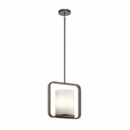 Kichler 43785OZ City Loft Modern Olde Bronze Mini Lighting Pendant