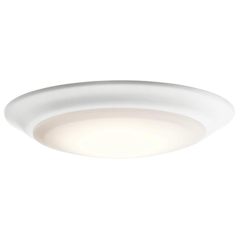 Kichler 43846WHLED27 White LED 2700K 75 Ceiling Light
