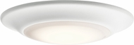 Kichler 43848WHLED27T White LED Indoor / Outdoor Ceiling Lighting Fixture