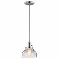 Kichler 43850CH Avery Chrome Mini Pendant Light Fixture
