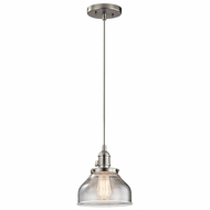 Kichler 43850NI Avery Brushed Nickel Mini Pendant Lighting Fixture