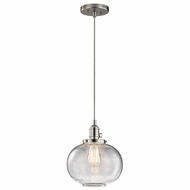 Kichler 43852NI Avery Brushed Nickel Mini Drop Ceiling Lighting