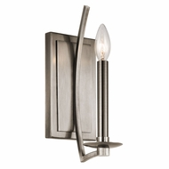 Kichler 43910CLP Grayson Classic Pewter Sconce Lighting