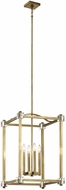 Kichler 43918NBR Cayden Natural Brass Entryway Light Fixture