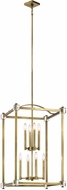 Kichler 43919NBR Cayden Natural Brass Foyer Lighting