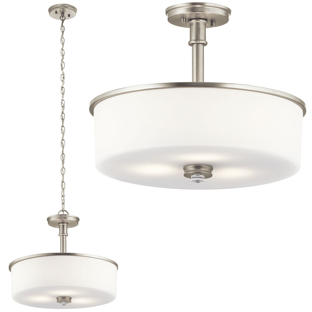 Kichler 43925NI Joelson Brushed Nickel Pendant Light