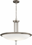 Kichler 43961CLP Dreyfus Contemporary Classic Pewter Hanging Pendant Light