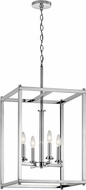 Kichler 43998CH Crosby Contemporary Chrome Entryway Light Fixture
